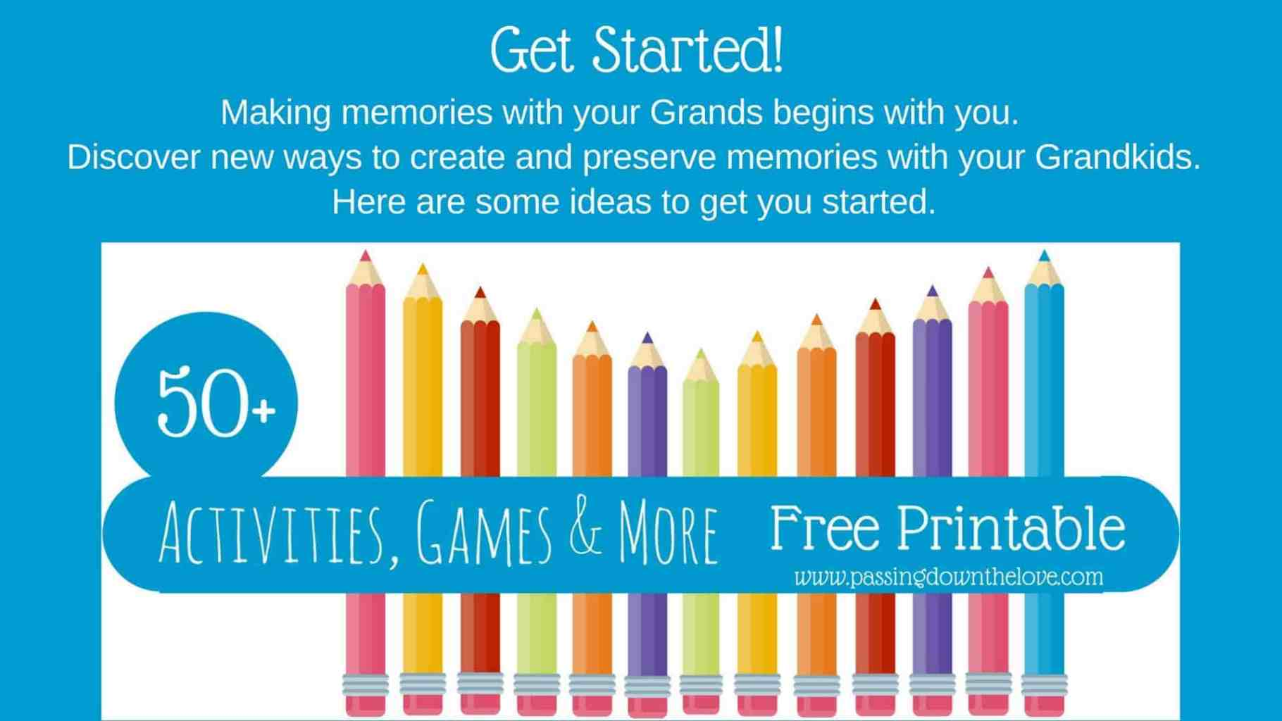 50+ Activities for Grandparents to do with Grandkids