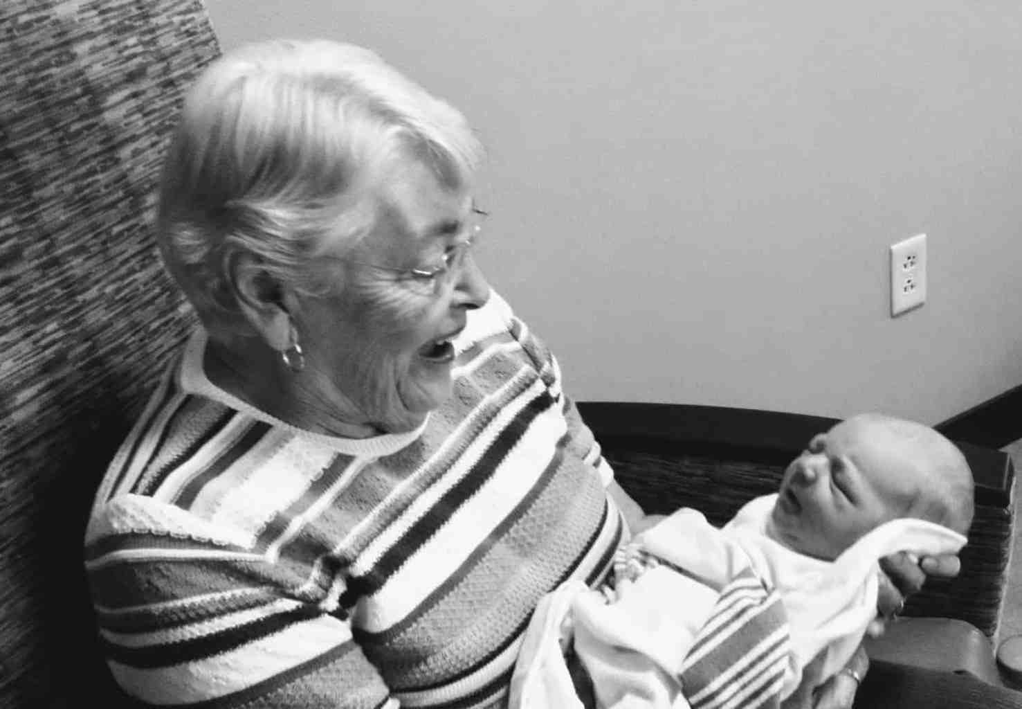 tips for a new Grandma with baby