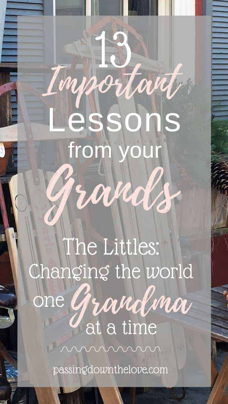 13 Important Lessons I Learned from my Grandchildren.  If we pay attention, they have something to teach us!