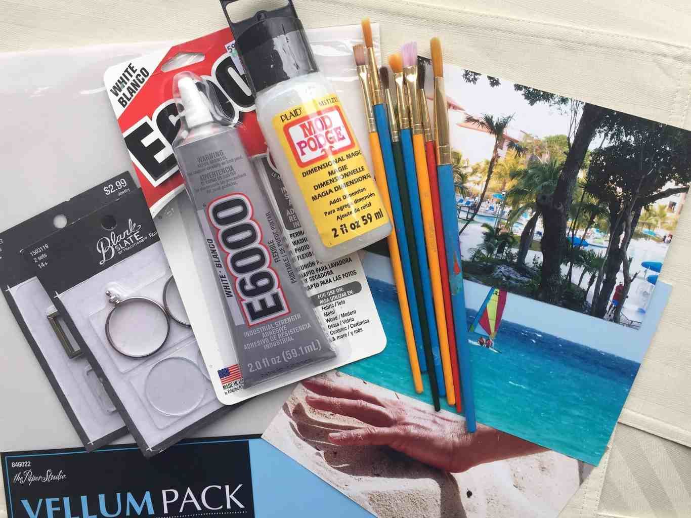 Photo craft supplies
