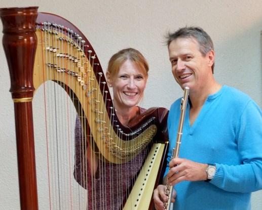 Duo flûte et harpe