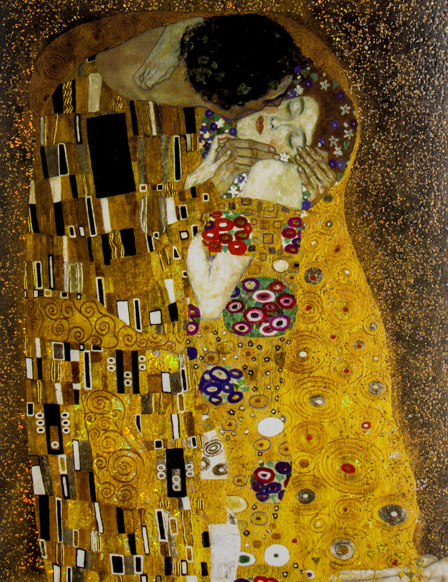 Gustav Klimt Note Card Box The Kiss