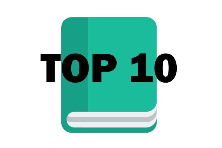 Top 10 des meilleurs livres de chevet