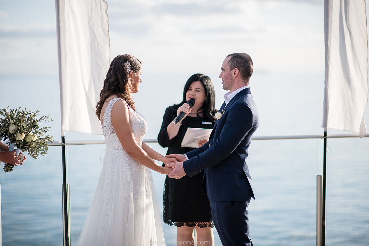 Sandringham yacht club wedding day
