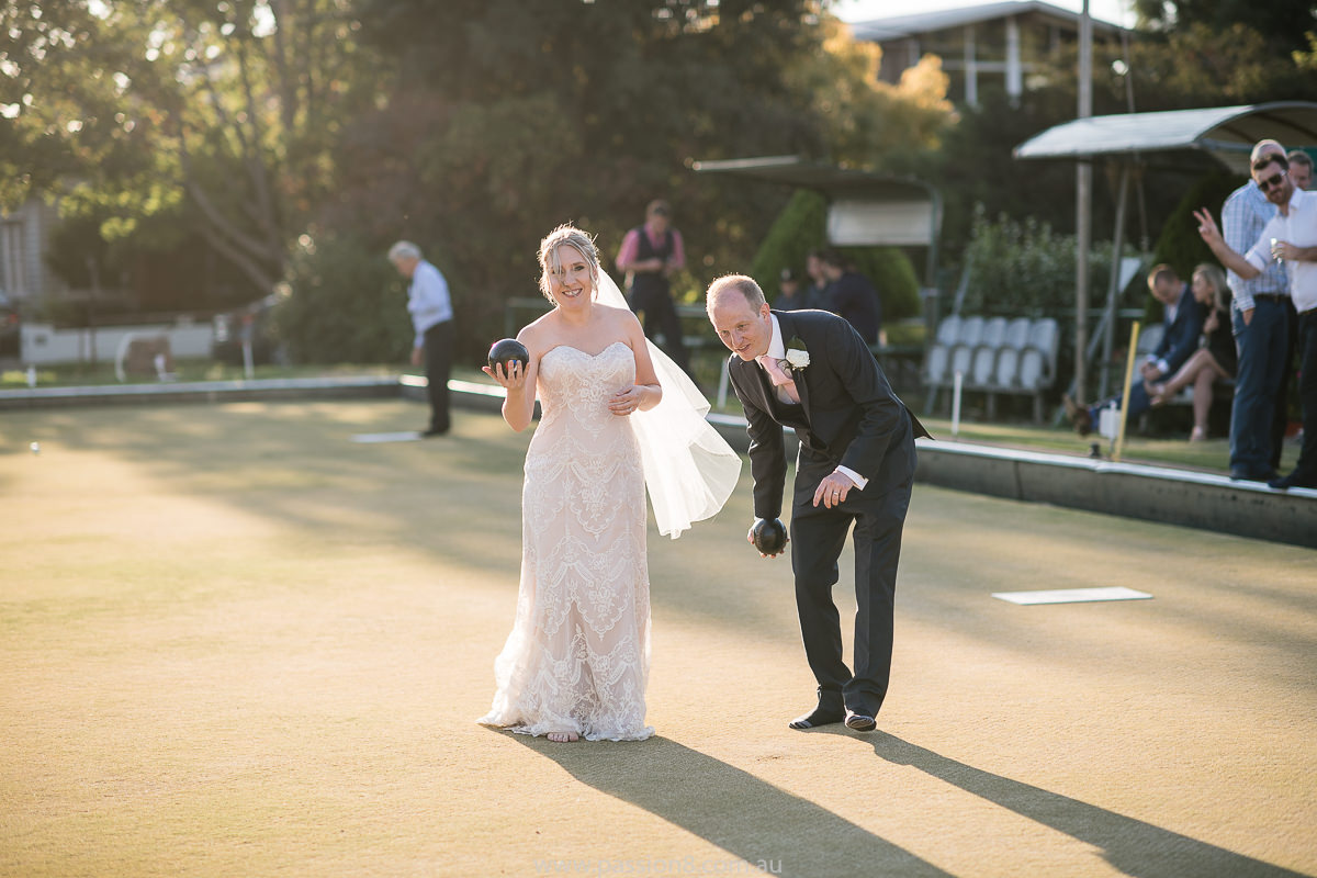 Footscray Park Bowls Wedding