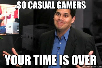 TFGA - Reggie casual gamer
