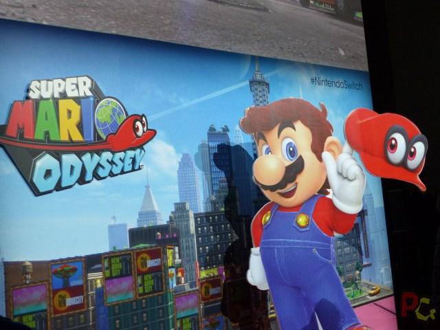 Essai Switch - Mario