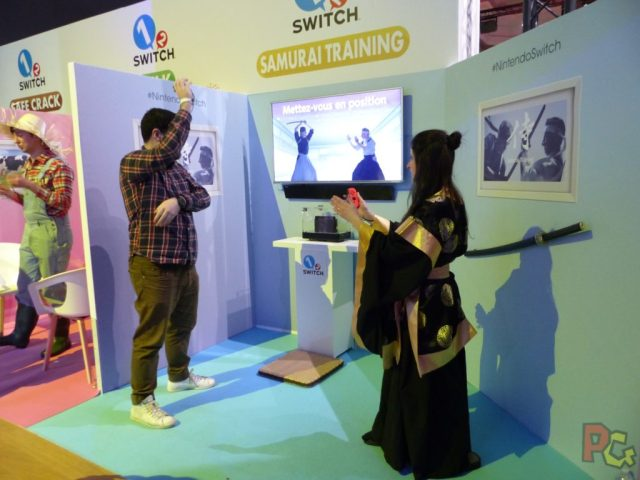 Essai Switch - Samourai Training