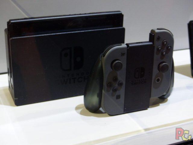 Essai Switch - Console