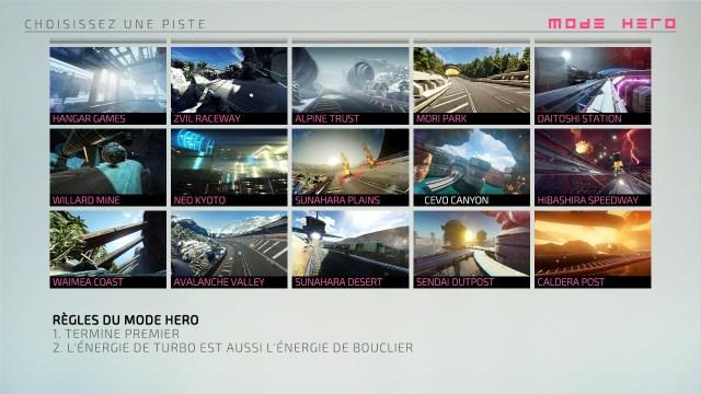 Fast RMX - Mode héros