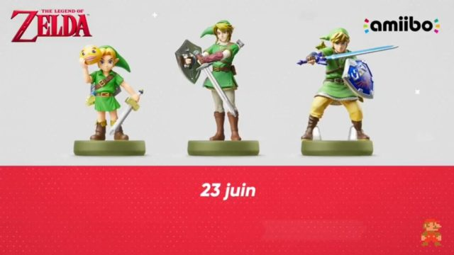 Nintendo Direct - Amiibos Zelda