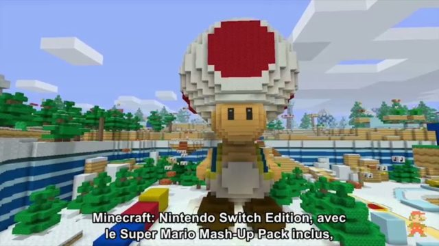 Nintendo Direct - Minecraft