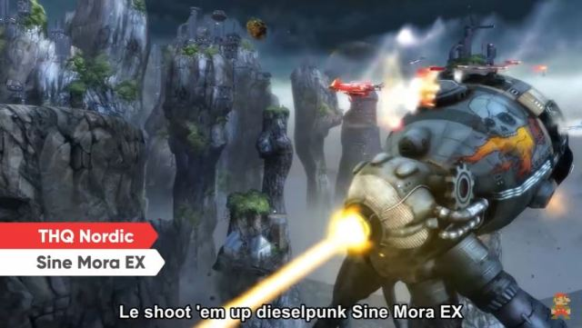 Nintendo Direct - Sine Mora Ex