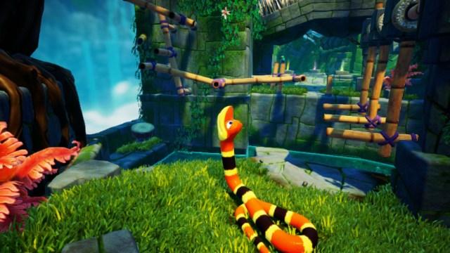 Snake Pass - Passage compliqué