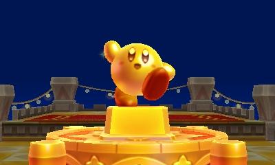 Kirby's Blowout Blast -Statue Kirby