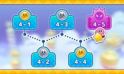 Kirby's Blowout Blast - niveaux