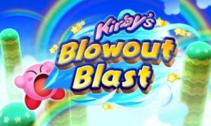 Kirby's Blowout Blast - bannière