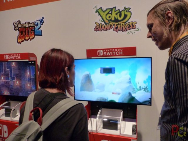 GC2017 Nintendo - Yoku's Island Express