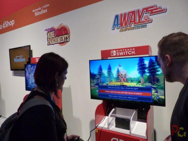 GC2017 Nintendo - Away