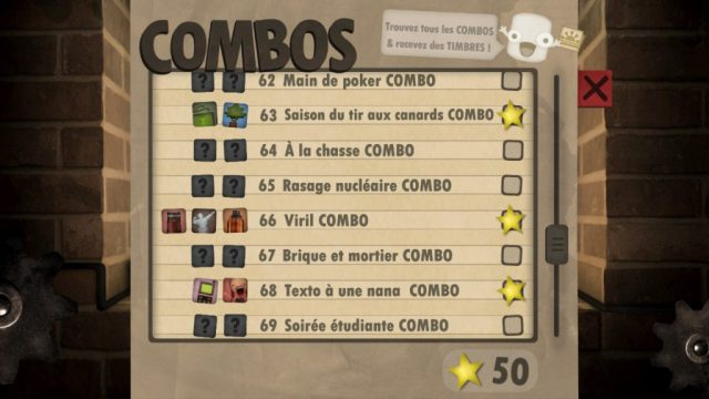 Little Inferno -liste combos