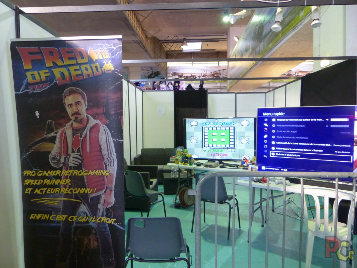 Mangame Summer 2017 - stand Fred et Genius