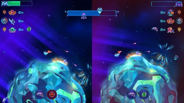Robonauts battle