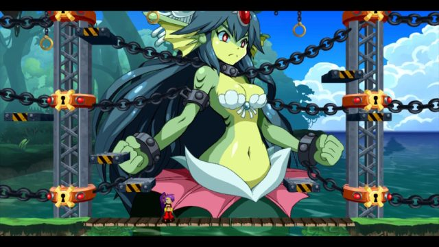 Shantae Half Genie Hero - boss mega mermaid