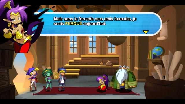 Shantae Half Genie Hero - fautes orthographe