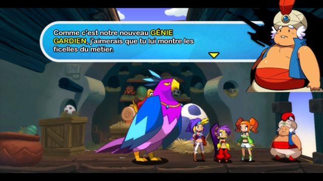 Shantae Half Genie Hero - remplacante
