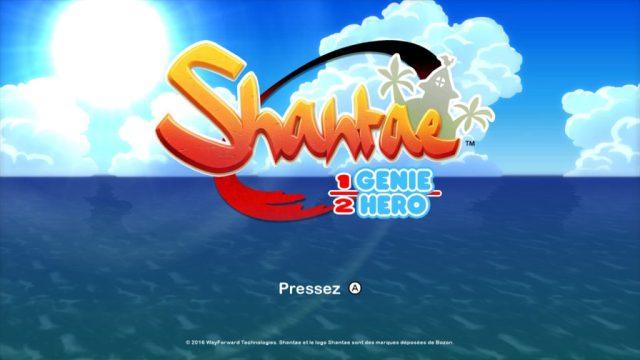 Shantae Half Genie Hero - titre