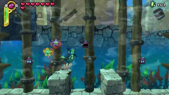 Shantae Half Genie Hero - transformation sirène