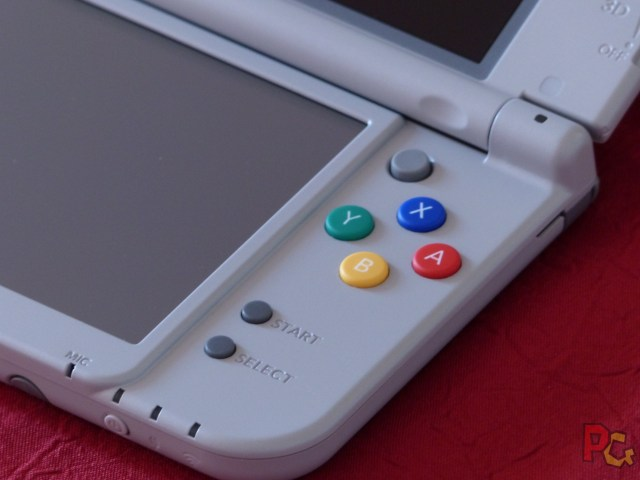 new 3DS XL SNES boutons