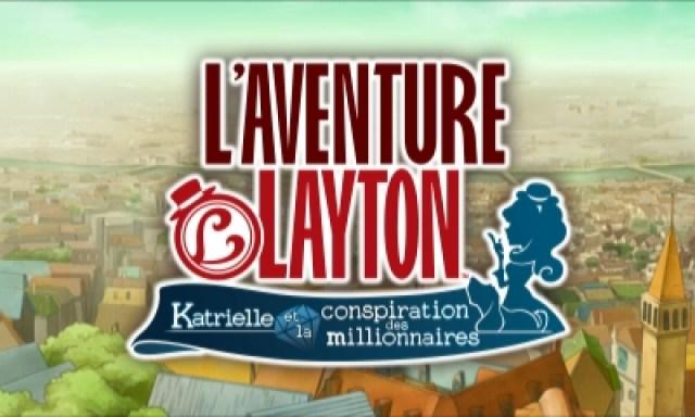 L'aventure Layton - écran titre