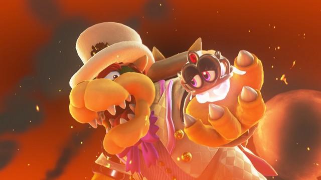Super Mario Odyssey - Bowser et Tiara