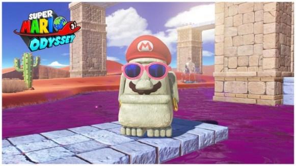 Super Mario Odyssey - pays des sables 2