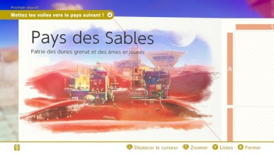 Super Mario Odyssey - pays des sables 9