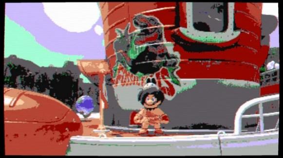 Super Mario Odyssey - pays des chutes 5
