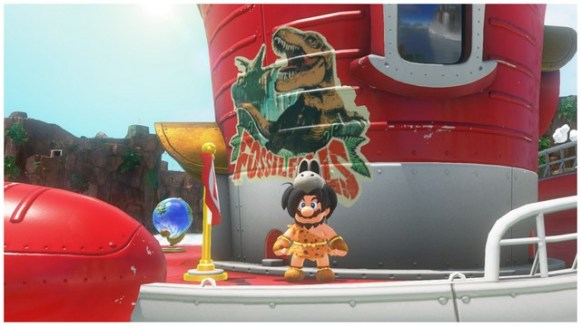 Super Mario Odyssey - pays des chutes 8