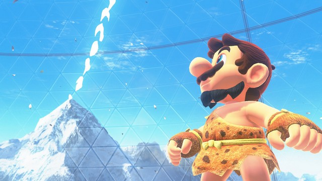 Super Mario Odyssey - pays de la foret 1