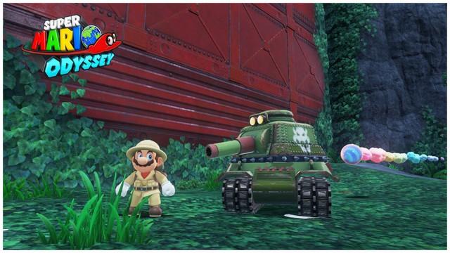 Super Mario Odyssey - pays de la foret 4