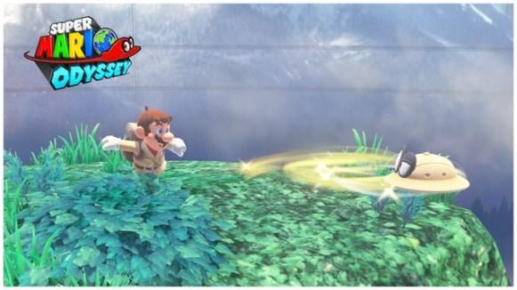 Super Mario Odyssey - pays de la foret 3