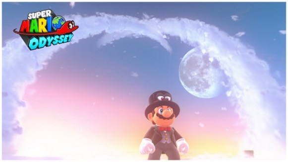 Super Mario Odyssey - pays des Nuages 6