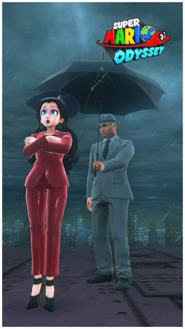 Super Mario Odyssey - pays gratte-ciel 40