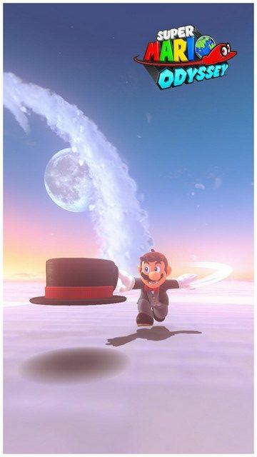 Super Mario Odyssey - pays des Nuages 7