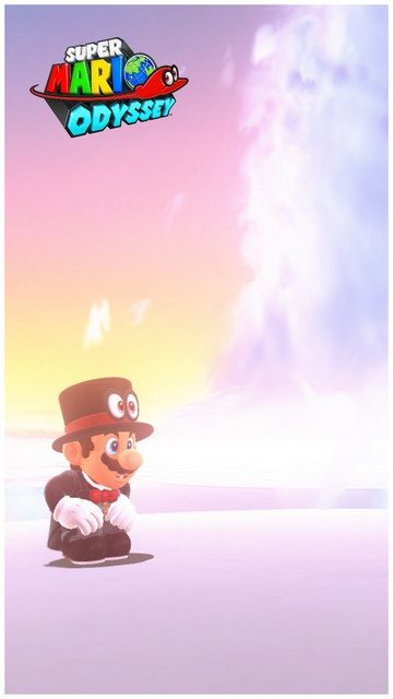 Super Mario Odyssey - pays des Nuages 8