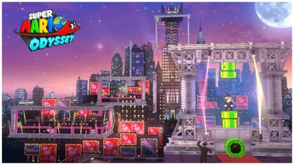 Super Mario Odyssey - pays gratte-ciel 24