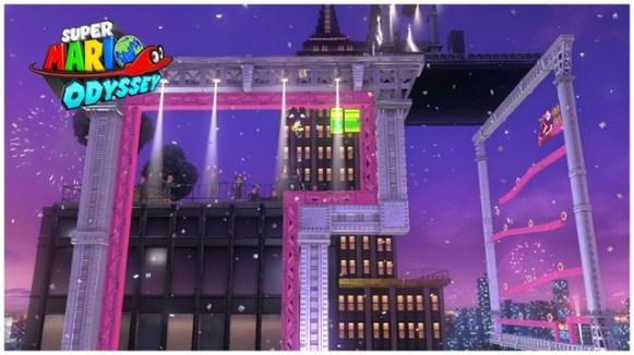 Super Mario Odyssey - pays gratte-ciel 23