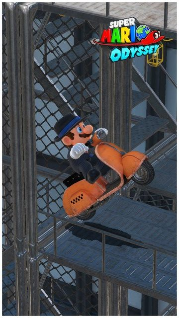 Super Mario Odyssey - pays gratte-ciel 51