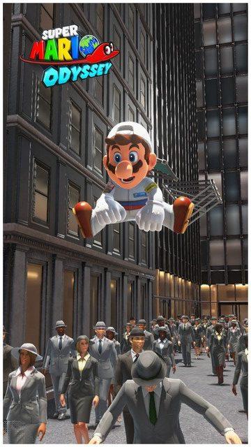 Super Mario Odyssey - pays gratte-ciel 56