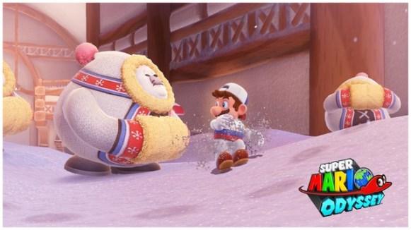Super Mario Odyssey - pays neiges 1